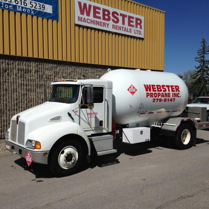 webster propane truck