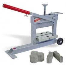 Brick cutter guillotine